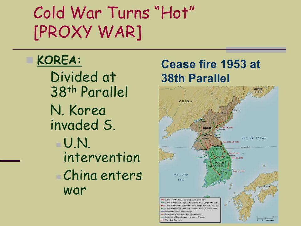 Cold War Turns Hot [PROXY WAR]
